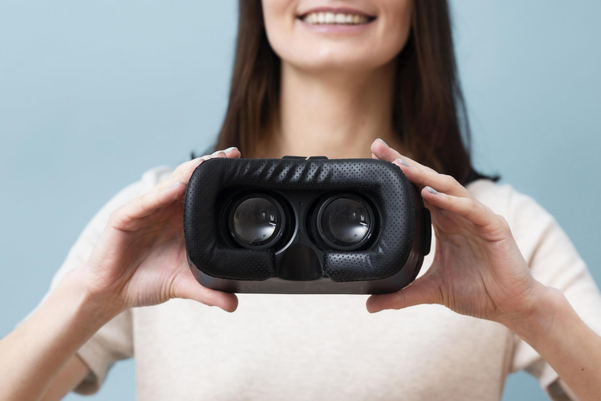 virtuális VR szemüveg 3d ingatlan séta Safehouse ingatlan